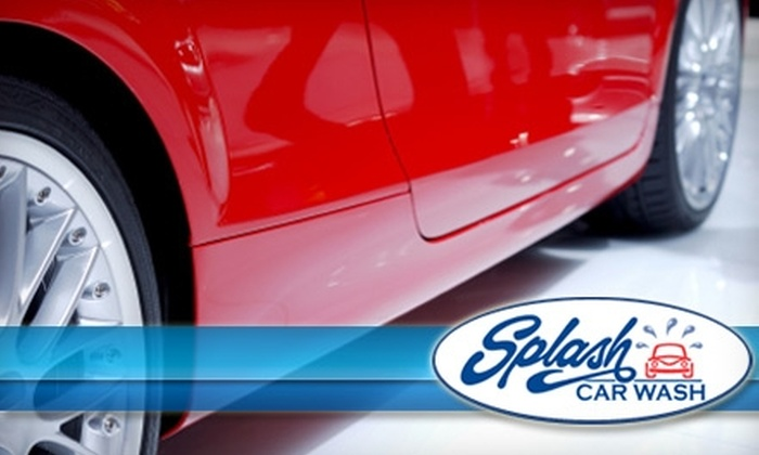 Splash Car Wash  - Multiple Locations: $99 for Five-Star Detail at Splash Car Wash (Up to $245 Value)