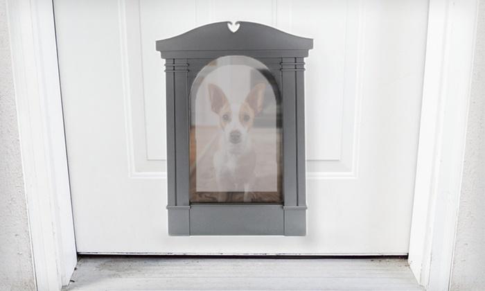 Classy Custom Pet Portals Groupon Goods