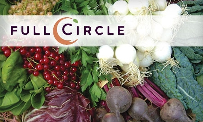 Full Circle Farm: $17 for One Standard Box of Organic Produce with Delivery or Pick-Up Option from Full Circle