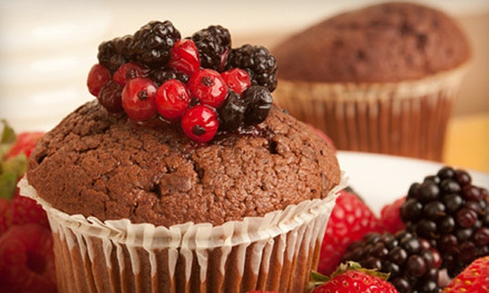 Ruby's Vegan Cupcakes - Mt. Washington: $19 for One Dozen Assorted Holiday or Gourmet Vegan Cupcakes at Ruby's Vegan Cupcakes ($42 Value)