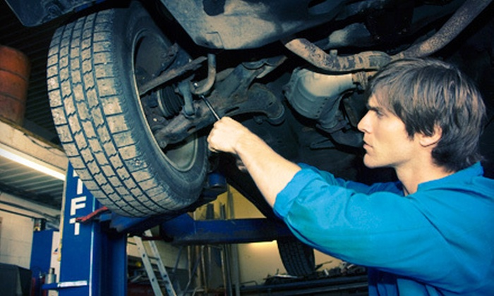 Mastertech of Arkansas, Inc - Multiple Locations: House or Synthetic Oil Change with Tire Rotation and 25-Point Inspection at Mastertech of Arkansas, Inc (Up to 73% Off)