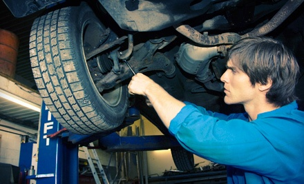 Oil-Change Package with up to 5 Quarts of House Oil (a $106 value) - Mastertech of Arkansas, Inc in Little Rock