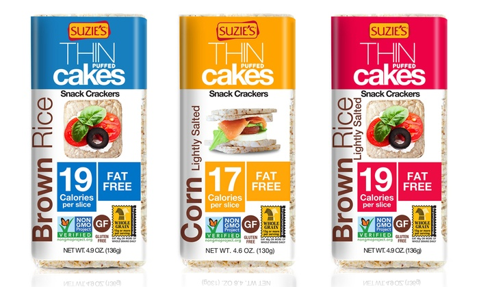 Suzie S Spelt And Flax Thin Cakes Nutrition