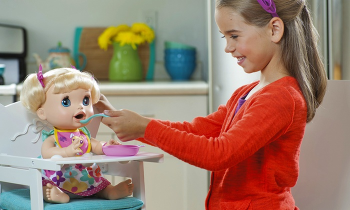 Baby Alive Real Surprise Doll And Food