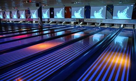 Twee uur bowlen voor 4 of 6 pers. incl. hoofdgerecht naar keuze bij Bowlingcentrum Dordrecht