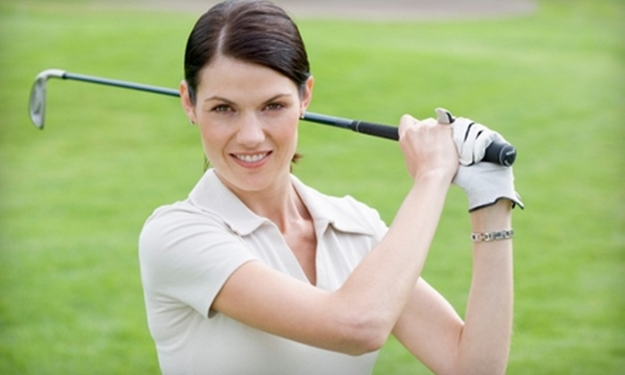 CityGolf Boston - Multiple Locations: $45 for a Video Golf-Swing Analysis or 2.5 Hours in a Golf Simulator at CityGolf Boston