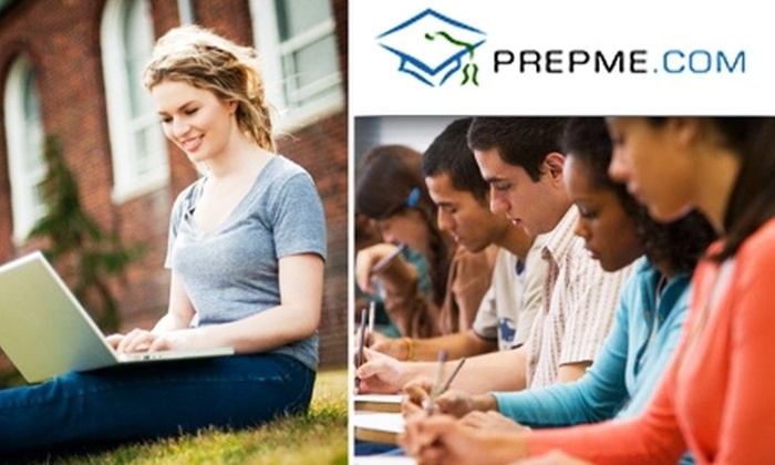 PrepMe - New York City: $149 for ACT or SAT Gold Personalized Online Test Prep from PrepMe ($300 Value)