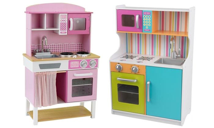 Cucine per bambini kidkraft groupon goods - Cucine per bambine ...