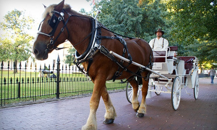 Little Rock Carriage Company - River Market: $30 for a Half-Hour Carriage Ride for Two from the Little Rock Carriage Company ($60 Value)