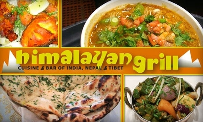 Himalayan Grill - Huntington Beach: $20 for $40 Worth of Southern Asian Cuisine and Drink at Himalayan Grill