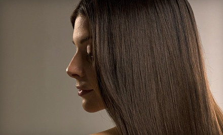 Women's Haircut, Conditioning Treatment, and Mint Scalp Massage (a $65 total value) - Bella Tula Salon in Carrollton