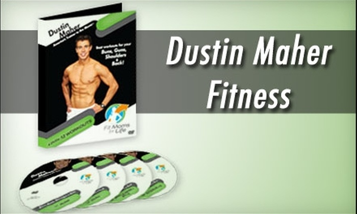 Dustin Maher Fitness: $49 for a Four-Pack of Fitness DVDs from Dustin Maher Fitness ($135.95 Value)