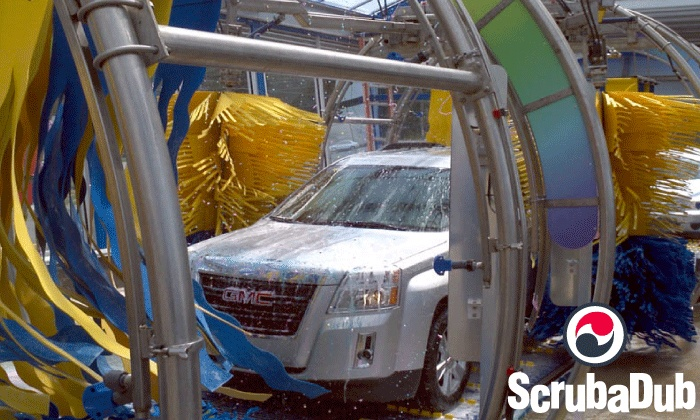 "ScrubaDub Auto Wash Centers - Multiple Locations: $22 for Three ""The Works"" Washes at ScrubaDub Auto Wash Centers (Up to $57 Value)"