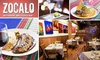 ZOCALO Restaurant - Near North Side: $25 for $50 Worth of Food & Tequila at Zocalo