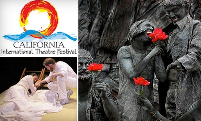 California International Theatre Festival - Multiple Locations: $25 for an Individual Admission to a Performance at California International Theatre Festival in Calabasas ($45 Value)