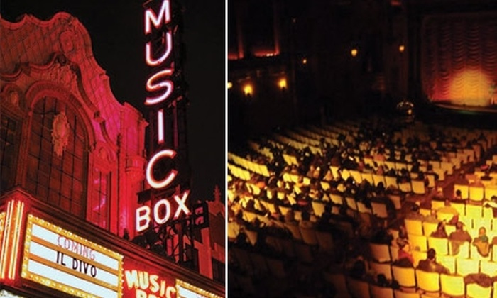 The Music Box Theatre - Lakeview: $16 for Two Tickets, Two Large Sodas, and One Large Popcorn at The Music Box Theatre ($31.25 Value)