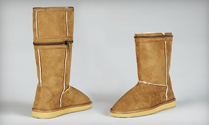 CitySlips: Small, Medium, Large, or Extra-Large Pair of CityBoots from CitySlips