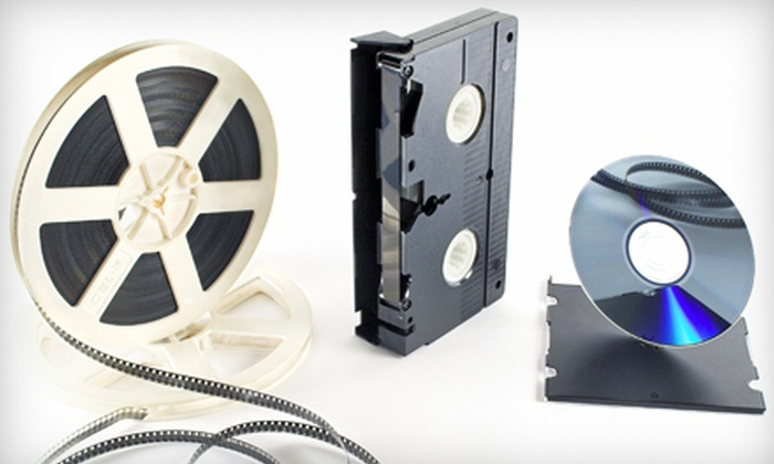 Hourglass Media - Dartmouth Centre: Videotape or 8mm Film Transfer to DVD at Hourglass Media (Up to 60% Off)