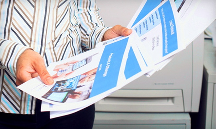 Ogden Blue - Ogden: $29 for $80 Worth of Printing Services at Ogden Blue