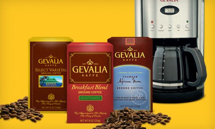 Gevalia: $50 for $100 Worth of Coffee, Tea, and Brewers with Free Shipping from Gevalia