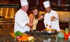 Three-Hour Cooking Class with Open Bar for One or Two