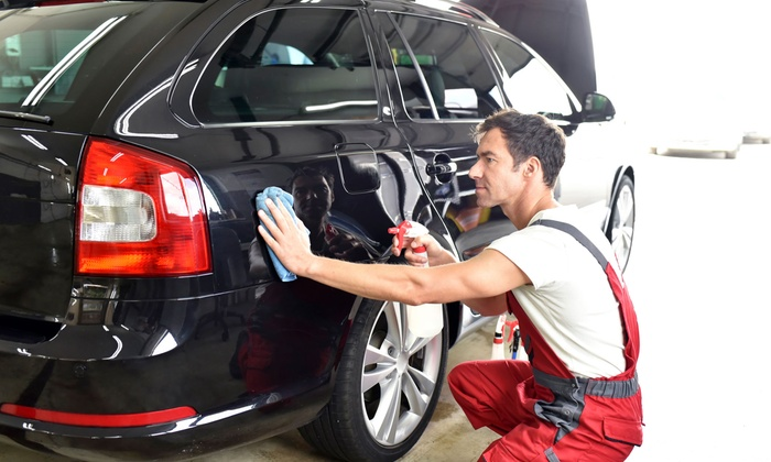 Lavage auto ext rieur complet performance auto groupon for Lavage interieur voiture