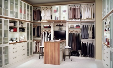$500 Toward a Custom-Built Closet - Cornerstone Closets in