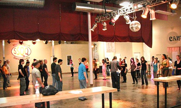 SSQQ Dance Studio - Greater Heights: $50 for One Month of Swing-Dancing Lessons for Two at SSQQ Dance Studio ($100 Value)