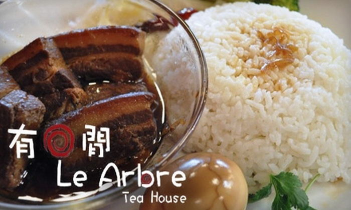 Le Arbre Tea House - Rosemead: $7 for $14 Worth of Taiwanese-Inspired Fare and Drinks at Le Arbre Tea House