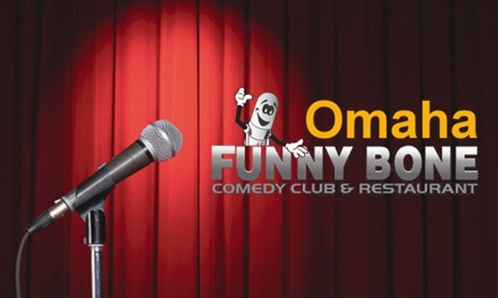 The Funny Bone - West Omaha: Ticket Plus Appetizer to Auggie Smith at The Funny Bone. Four Dates and Six Showtimes Available.