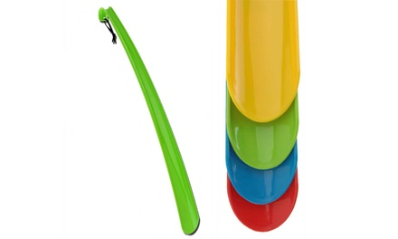 One or Two Easy-Grip Extra-Long Coloured Shoehorns
