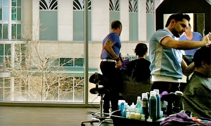 Paragon your Salon - Midtown: Hair Services at Paragon your Salon (Up to 76% Off). Two Options Available.