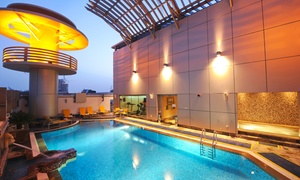 Vision Links Hotel: Pool, Gym, Jacuzzi, Sauna with Food and Drinks at 2 Locations Vision Hotel and Vision Links Hotel (Up to 73% Off)