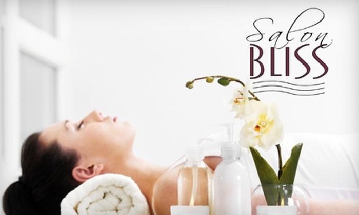 Salon Bliss - Fuquay-Varina: $29 for a Spa Mani-Pedi, European Facial, or Swedish Massage at Salon Bliss in Fuquay-Varina