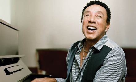 Smokey Robinson on Saturday, April 28, at 8 p.m.