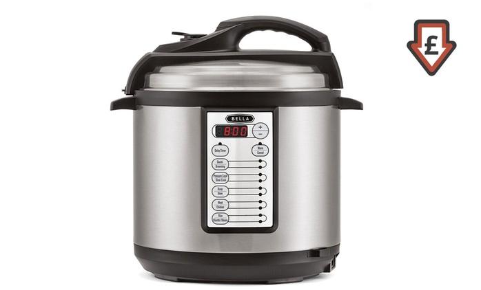 Bella Linea Electric Pressure Cooker for £39.98  (60% Off)