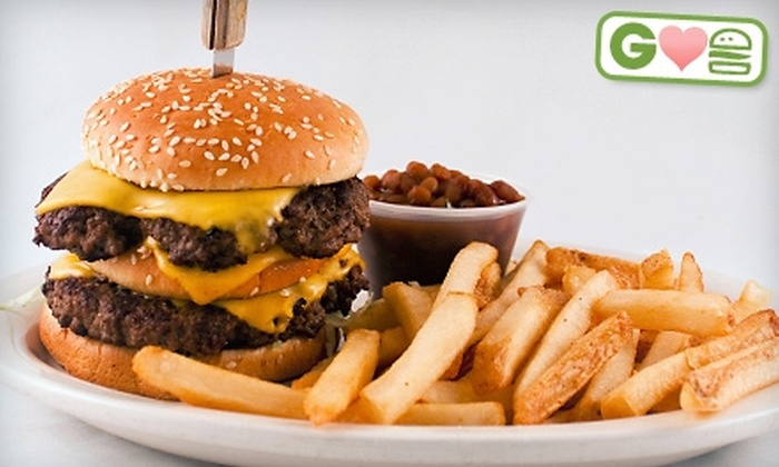 Bob's 19th Hole - South Bend: $4 for a Burger Platter at Bob's 19th Hole (Up to $8.99 Value)