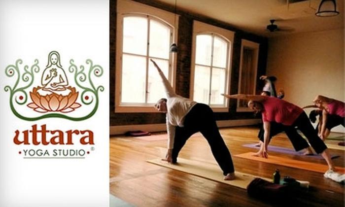 Uttara Yoga Studio - Downtown: $35 for Eight Classes at Uttara Yoga Studio