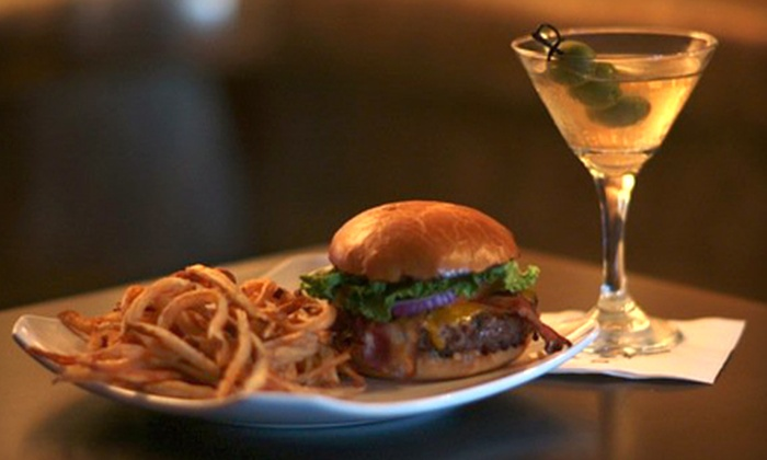Duvic's Martini Lounge - Baton Rouge: $10 for $20 Worth of Cajun Cuisine at Duvic's Martini Lounge