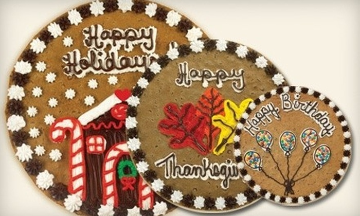 Great American Cookies - University Mall: $10 for $20 Worth of Cookie Cakes, Cookies, and Brownies at Great American Cookies in Tuscaloosa