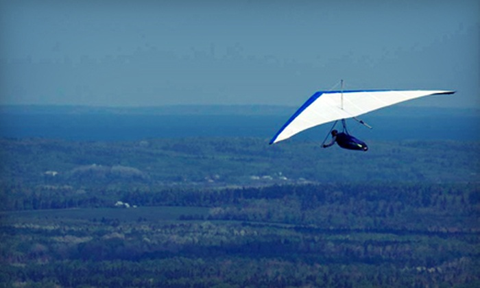 Maritime Hang Gliding Academy - Harvey: $99 for an Introductory Hang-Gliding Lesson from Maritime Hang Gliding Academy in Cape Enrage ($200 Value)