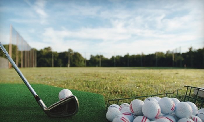 Grand Slam Driving Ranges - Multiple Locations: $12 for Two Jumbo Buckets of Golf Balls at Grand Slam Driving Ranges (Up to $26 Value).
