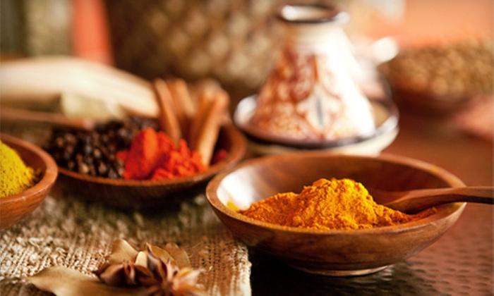 Tandoori Times Indian Bistro - Multiple Locations: $20 for $40 Worth of Indian Cuisine at Tandoori Times Indian Bistro