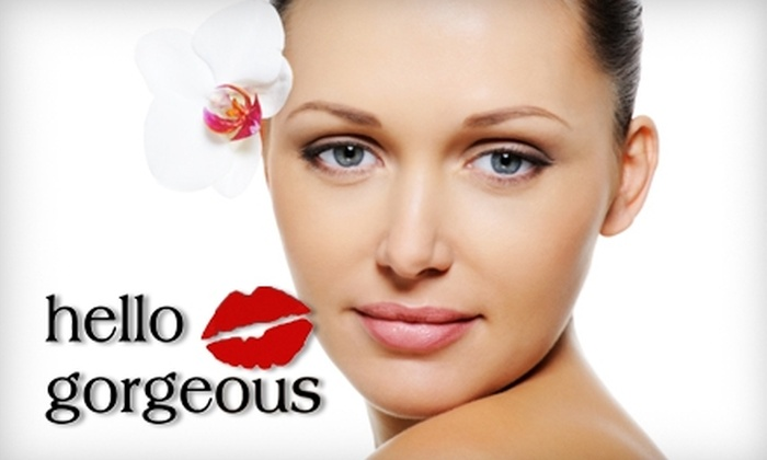 Hello Gorgeous - Fairview: $75 for Anti-Aging Facial, Hair Design Consultation, Haircut and Styling, and Color Analysis and Makeover at Hello Gorgeous in Fairview ($170 value)