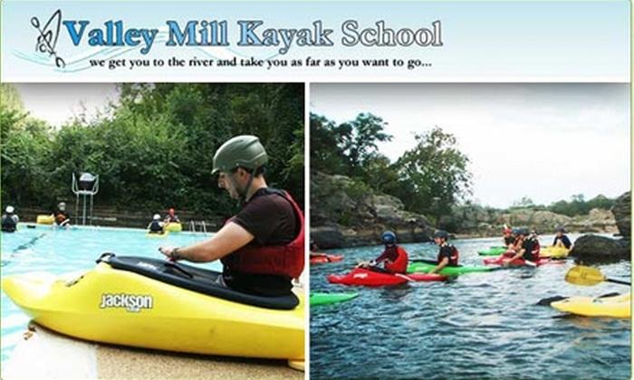 Valley Mill Kayak School - Potomac: $49 Beginners' Lesson at Valley Mill Kayak School ($105 Value)