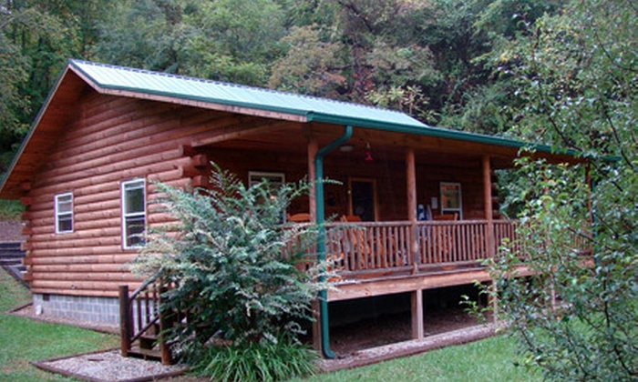 Smoky Mountain Cabins: Two Night Weekday Or Weekend Stay In A Fox Creek  Cabin