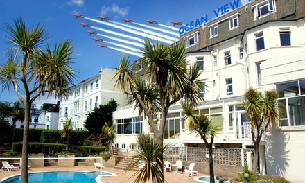 Bournemouth: Double or Twin Room for Two with Breakfast, Prosecco and Late CheckOut at The Ocean View Hotel