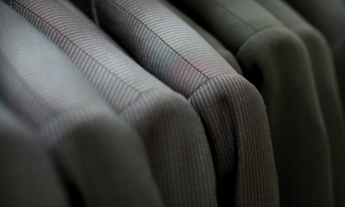 Ann's Cleaners - Multiple Locations: Dry-Cleaning Services at Ann's Cleaners (Up to 54% Off). Three Options Available.