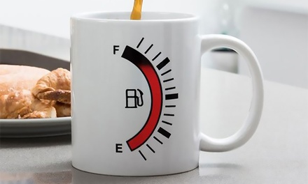 Mug with Temperature Indicator