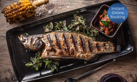 3-Course Dinner with Wine for 2 ($89) or 4 ($176) at Pan Pacific Melbourne's Dock 37 Bar and Kitchen (Up to $370 Value)